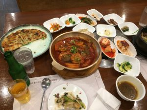New York Korean food