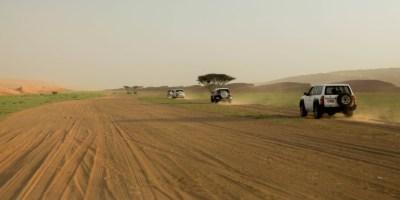 Oman Wahiba sands woestijn