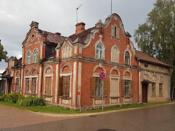 Oud huis in Kuldiga