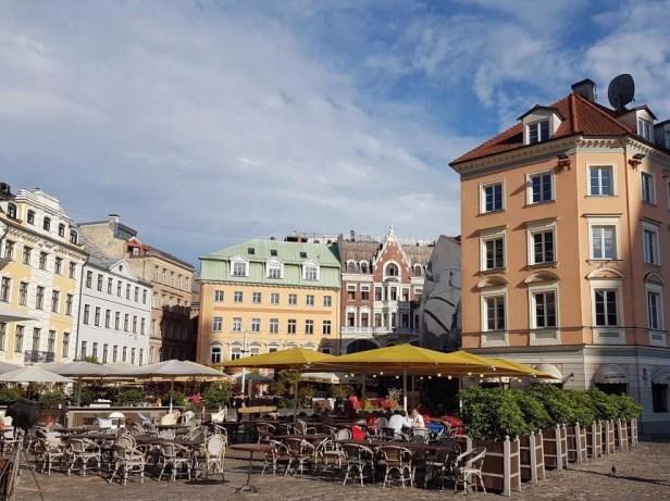 Riga Letland stadsgezicht
