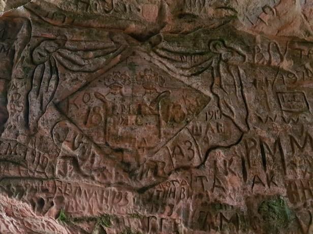 Guteman's cave Gauja National Park