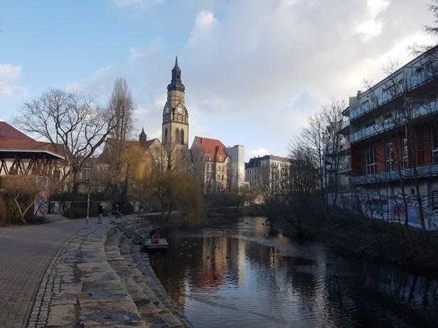 Karl Heine kanaal Leipzig