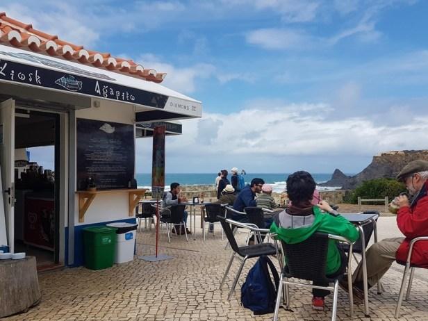 Odeceixe strand kiosk