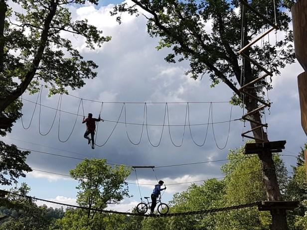 Adventure park van Sigulda in Letland