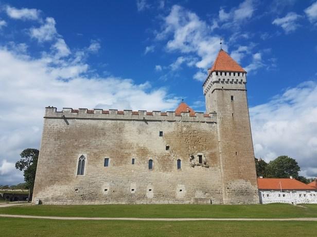 Bijzonder kasteel in Kuressaare Letland
