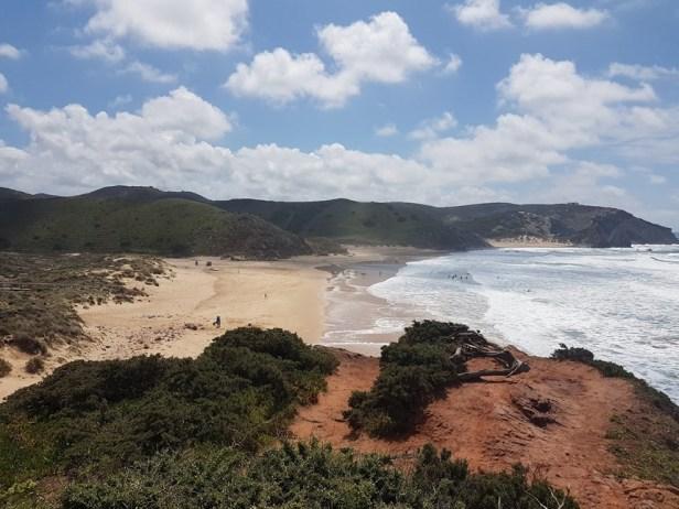 Carrapateira Amado surf strand