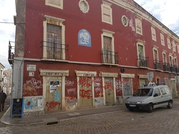 Faro streetview Portugal