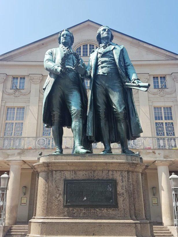Goethe en schiller Weimar