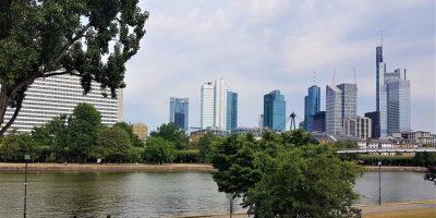Frankfurt an Main stadsgezicht
