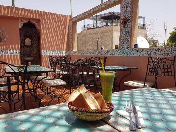 Berber cuisine dakterras marrakesh