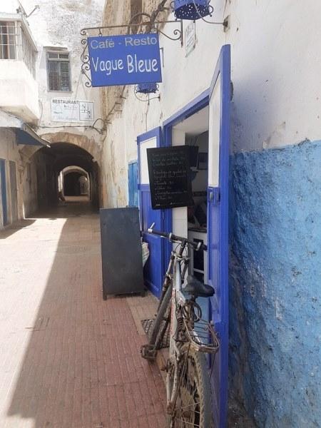 Vague bleue Essaouira