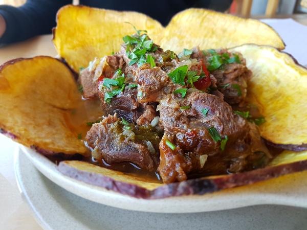 rogil, zoete aardappel, restaurant