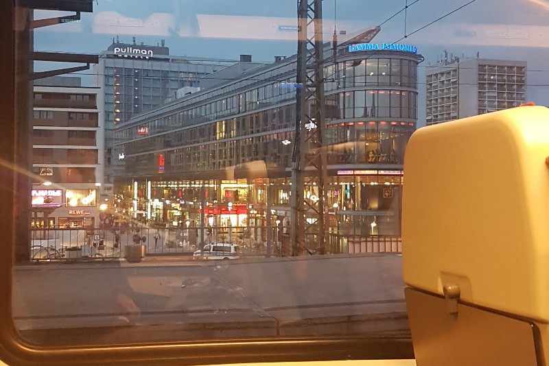 trein naar praag