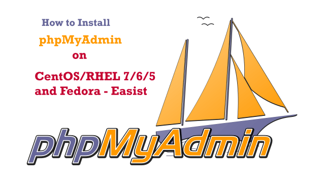 How to Install phpMyAdmin on CentOS/RHEL 7/6/5 and Fedora - Easist
