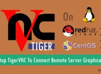 How To Setup TigerVNC To Connect Remote Server Graphically On RHEL/CentOS 7?