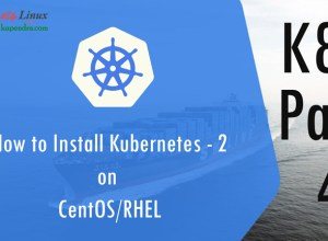 How to Install Kubernetes on CentOS/RHEL k8s: Part-4