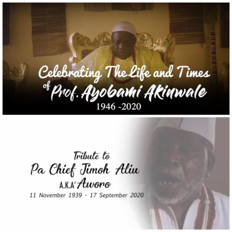 A Tribute to Prof Ayo Akinwale & Chief Jimoh Aliu