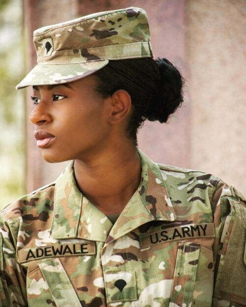 Celebrating Yinka Adewale as she Joins the US Army!