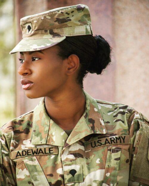 Celebrating Yinka Adewale as she Joins the US Army!