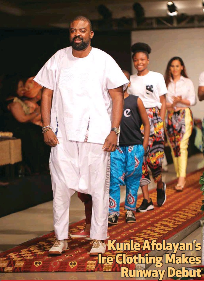 Ire Clothings Runway Debut At The 2018 African Fashion Week Nigeria (AFWN)