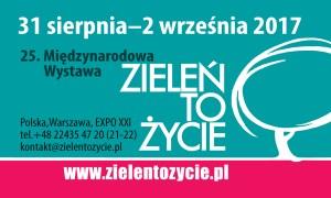 Zieleń to Życie - zapraszamy do Warszawy 31.08.-2.09.