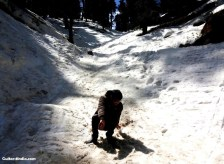 Narkanda Snow Slip Image