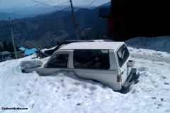 Car in Snow Image