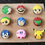 Videogame cupcakes