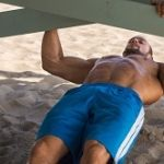 Modified pull up under low bar