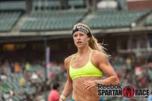 Cassidy Watton in a Spartan Race