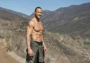 Gabe Kapler walking in Malibu hills
