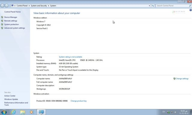 Windows 7 Ultimate SP1 Lite Edition 2019 Descargar