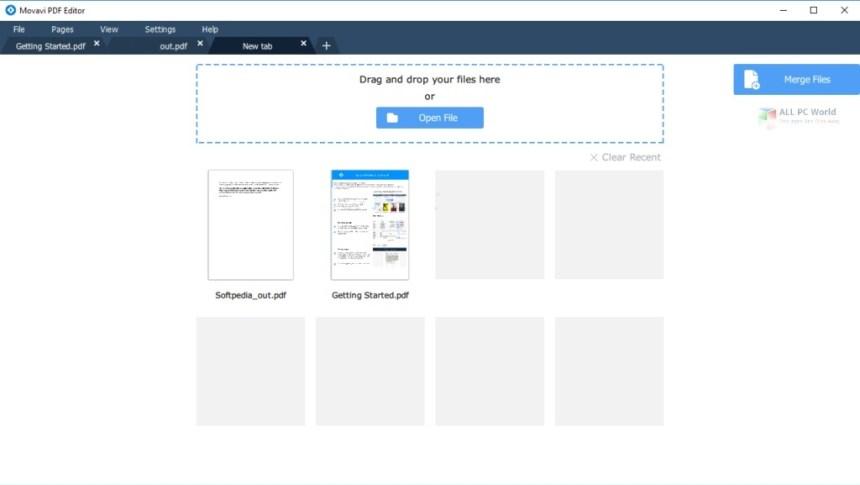 Descargar Movavi PDF Editor 3.1 gratis