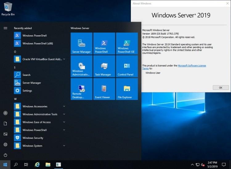 Windows Server 2019 X64 Standard ESD en-US MARZO 2020 Configuración Descarga gratuita