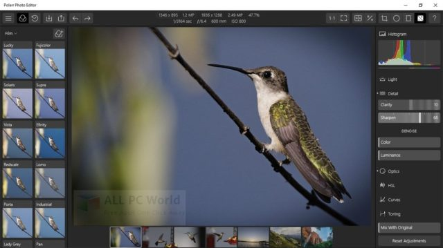 Revisión de Polarr Photo Editor X64