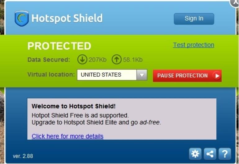 Hotspot Shield Última versión Descargar gratis