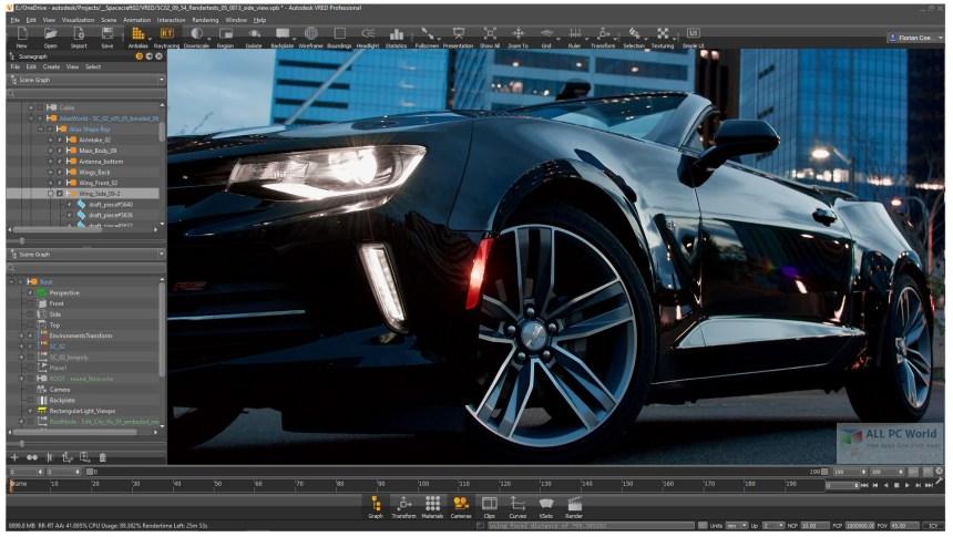 Autodesk VRED Professional 2020 Descargar