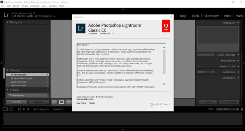 Adobe Photoshop Lightroom Classic CC 8.0 Descarga gratuita