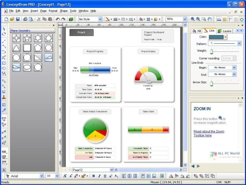 ConceptDraw Office Pro 8.0