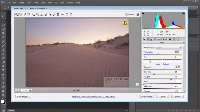 Adobe Camera Raw 11