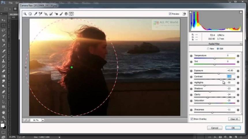 Descarga gratuita de Adobe Camera Raw 11