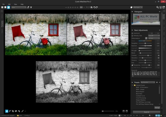 Descarga gratuita de Corel AfterShot Pro v3.5