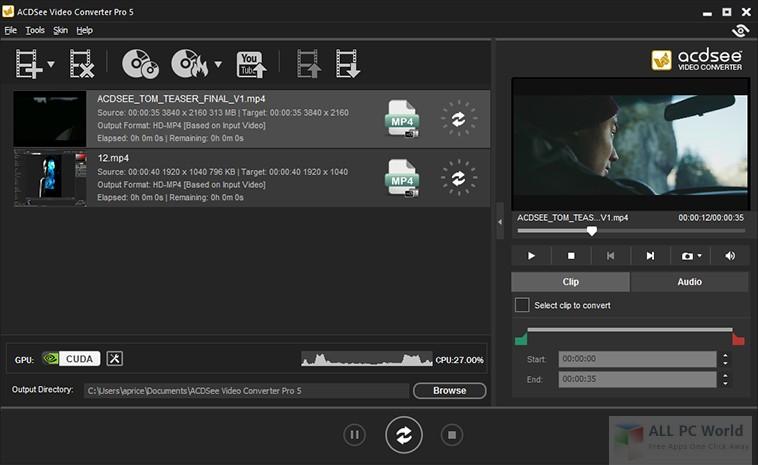 Revisión de ACDSee Video Converter Pro 5.0