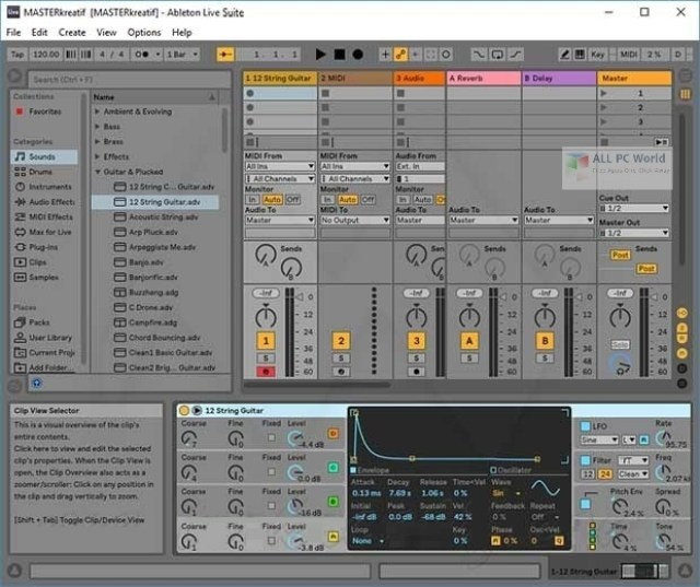 Ableton Live Suite 10.1.25 Descarga gratuita