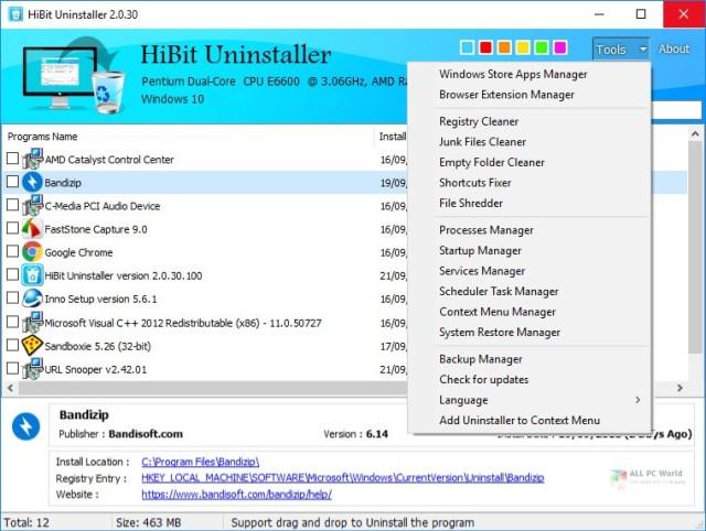 Descarga gratuita de Hibit Uninstaller 2.5