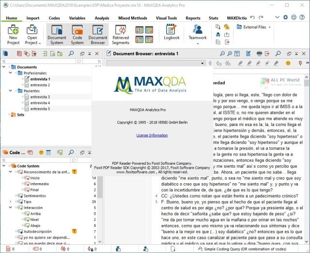 Enlace de descarga directa MAXQDA Analytics Pro 2020 R20.2