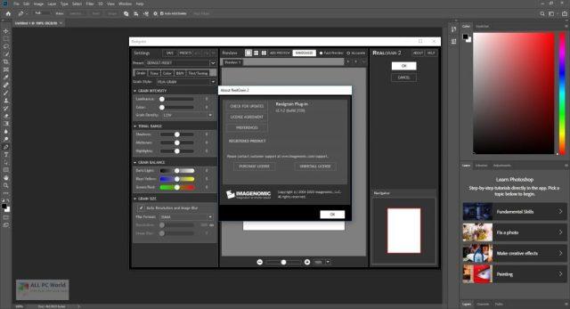 Imagenomic Realgrain 2.1.2 Descarga gratis