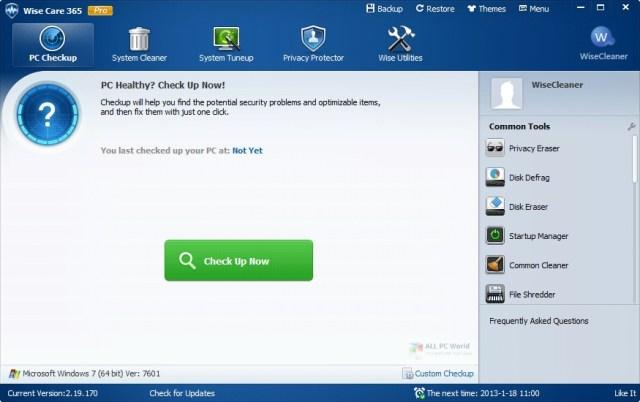 Wise Care 365 Pro 5.5.6 Descarga con un clic