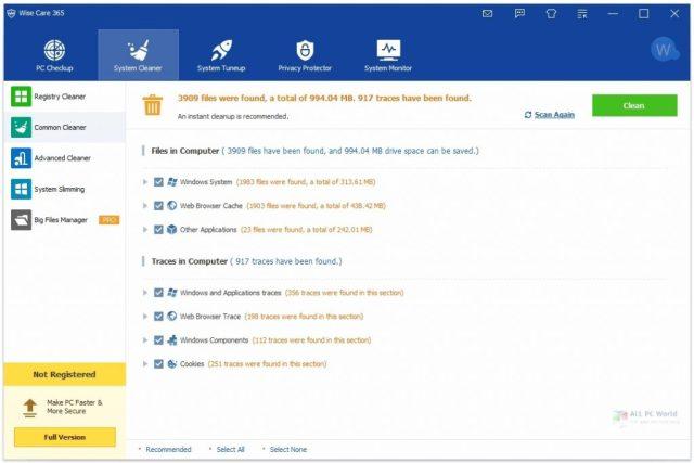 Wise Care 365 Pro 5.5.6 Versión completa
