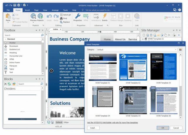 WYSIWYG Web Builder 15.4.5 Versión completa